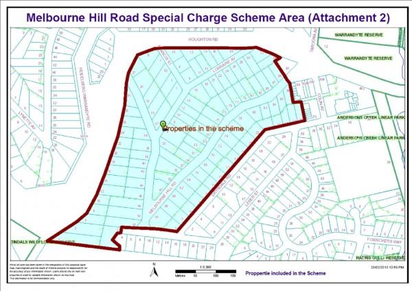 Melbourne Hill Drainage Scheme
