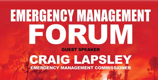 Notes from Emergency Management Forum Summer Preparedness – 12 November 2015