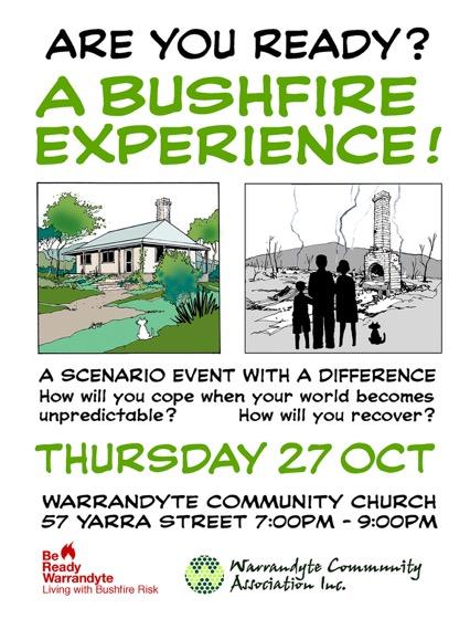 2016 Bushfire Scenario Event