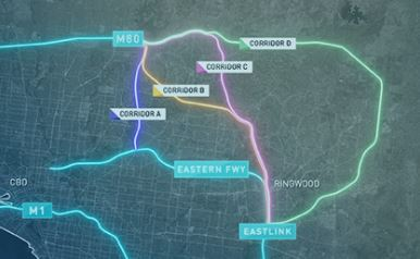 North East link Authority – WCA notes on the N E Link