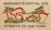 2018 Warrandyte Festival Writers Wall