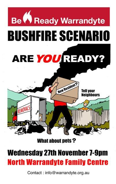 Nillumbik Bushfire Scenario Event